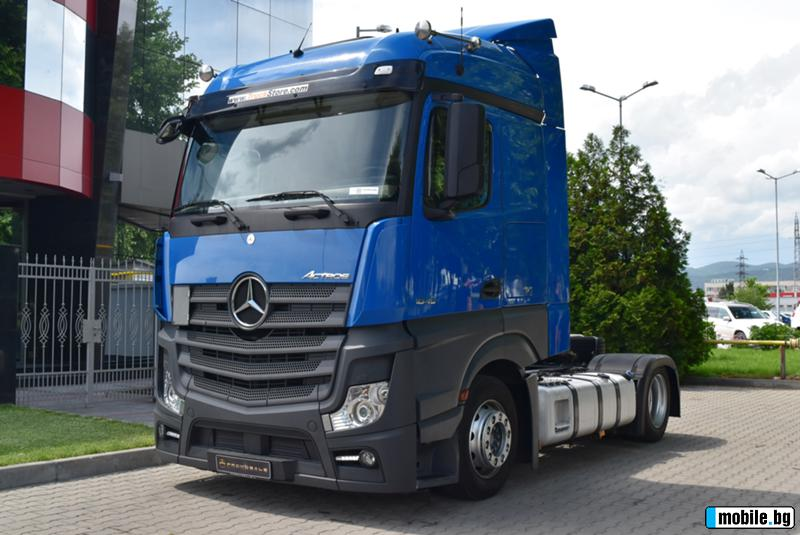 Вижте всички снимки за Mercedes-Benz Actros 1845*Mega*BiXen*AdBlue*Air*SteamSpace*PowerShift3*