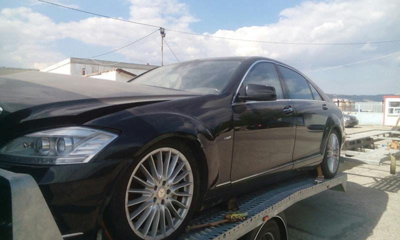 Mercedes-Benz S 450 на части