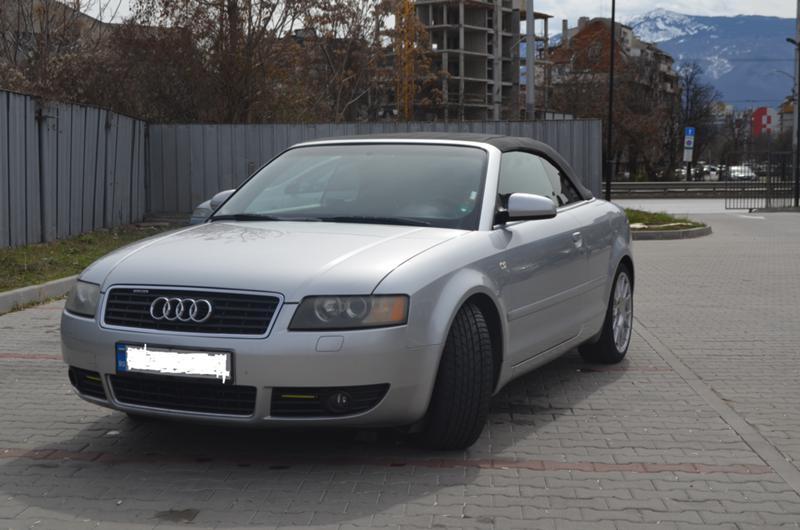 Audi A4 Кабрио 1.8Т