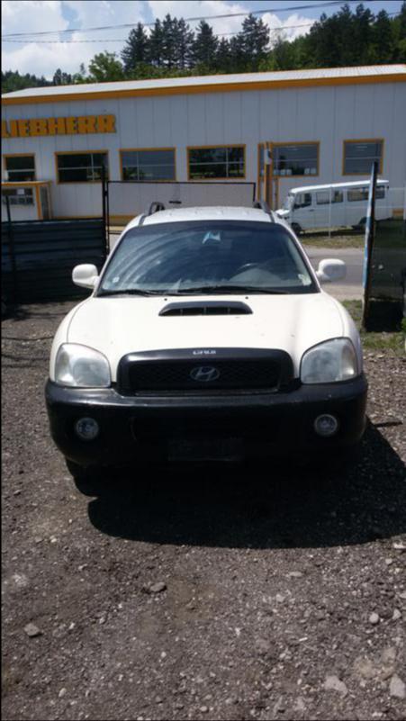 Hyundai Santa fe 2.0crdi НА ЧАСТИ