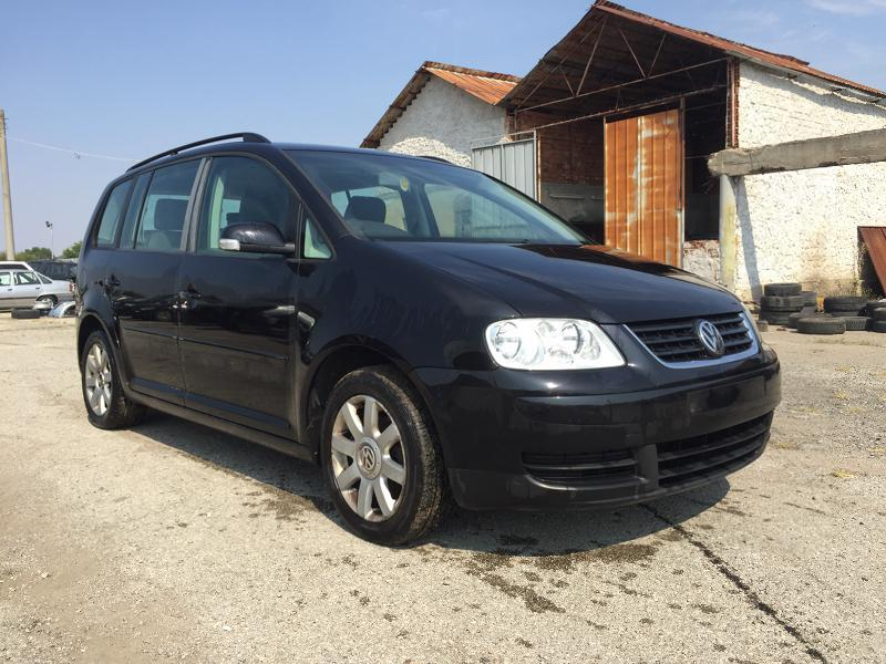 VW Touran 1.9 tdi 6 скорости тим мотор: BKC