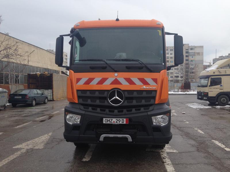 Mercedes-Benz Arocs FAUN ROTOPRESS 516, снимка 2