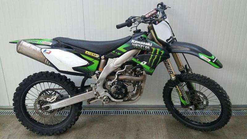 Kawasaki Kx 250-450