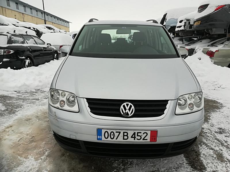 VW Touran 1.6TSI-НА ЧАСТИ