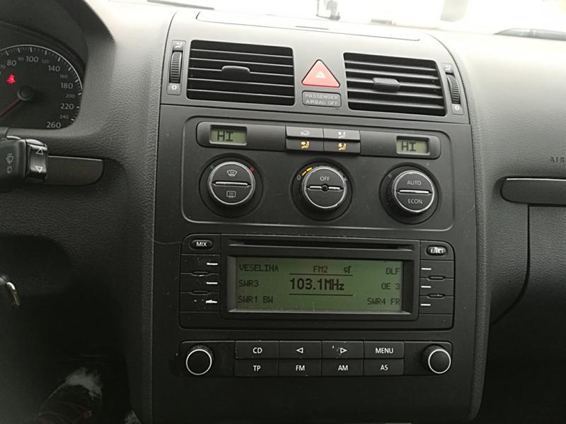 VW Touran 1.6TSI-НА ЧАСТИ, снимка 11