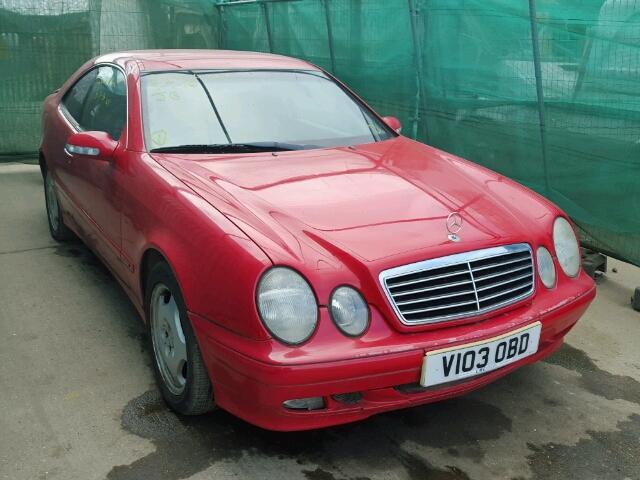 Mercedes-Benz CLK 2.0 i на части