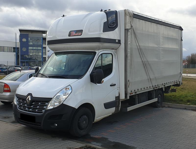 Renault Master Падащ Борд Dhollandia