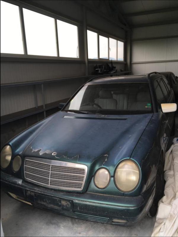 Mercedes-Benz E 200 НА ЧАСТИ