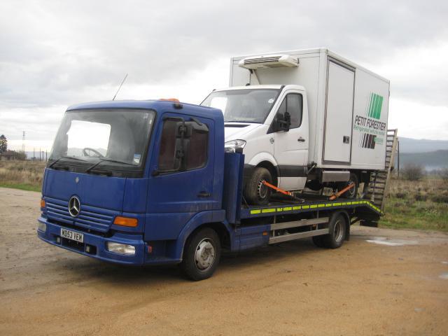 Mercedes-Benz Atego 815 На части