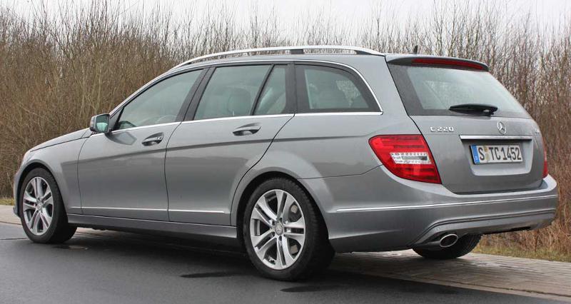 Mercedes-Benz C 220 НА ЧАСТИ след 2010 до 2014