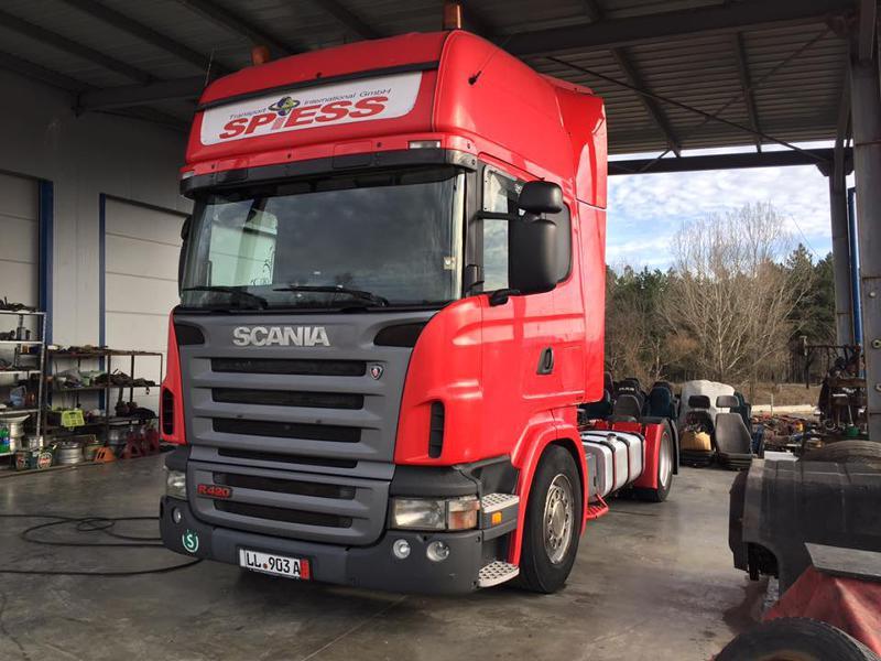 Scania R 420 НА ЧАСТИ MEGA