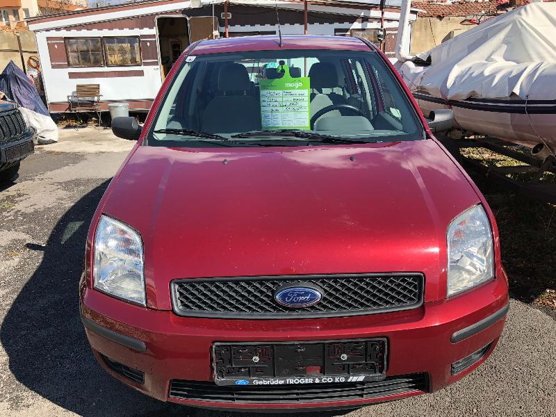 Ford Fusion 1.4 d