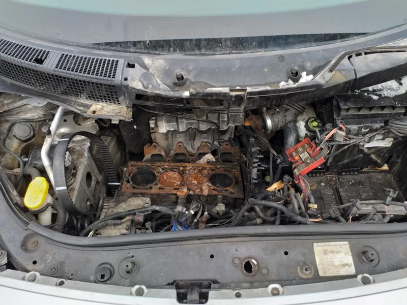 Renault Scenic 1.6 16V 90к.с., снимка 10