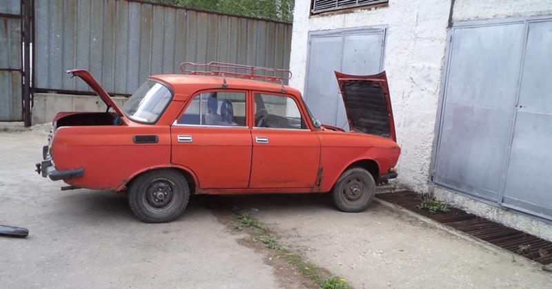 Moskvich 2140 НА ЧАСТИ