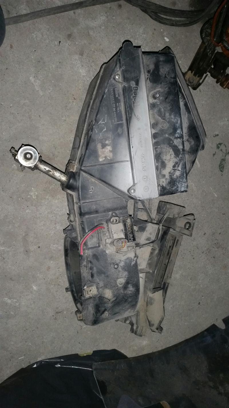 Охладителна система за Renault Megane