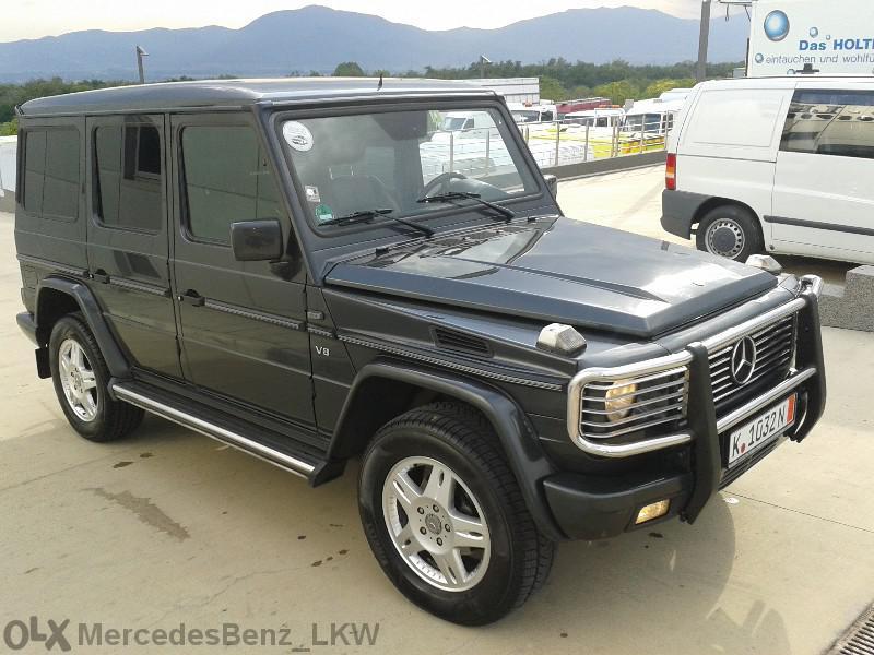 Mercedes-Benz G 400 CDI НА ЧАСТИ