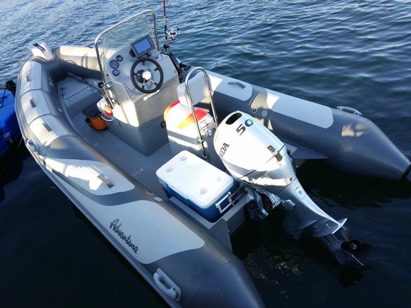 Надуваема лодка Adventure V500 HD, снимка 17