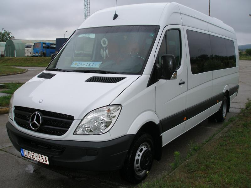 Mercedes-Benz Sprinter 518 НА ЧАСТИ след 2007