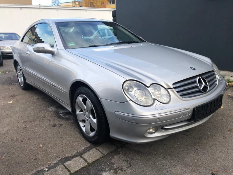 Mercedes-Benz CLK 2.7CDI НА ЧАСТИ
