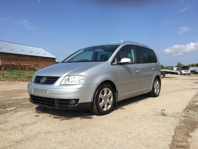 VW Touran 2.0 TDI 140 к.с BKD 6 скорости