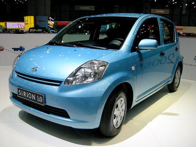 Daihatsu Sirion 1.0I 1 KR