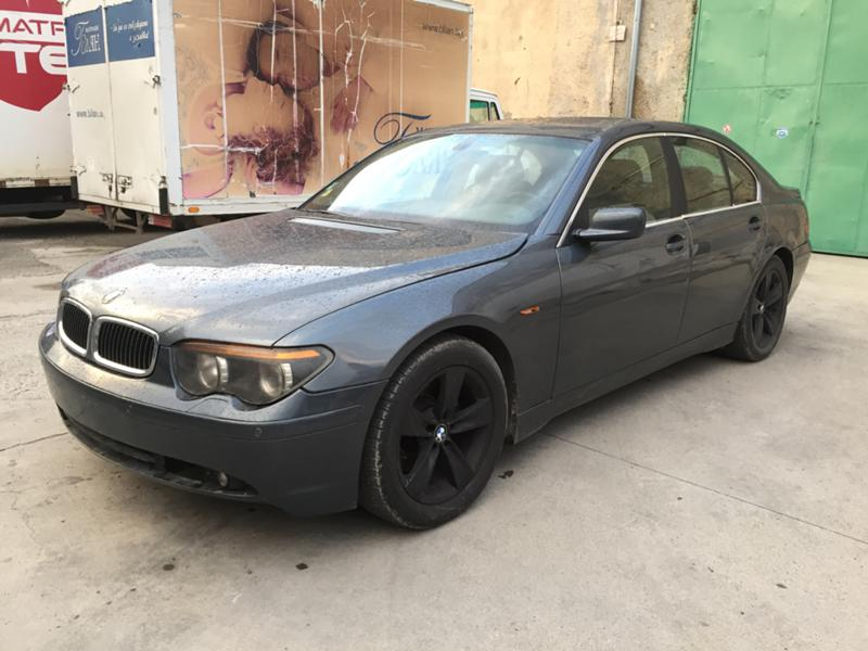 BMW 745 И бензин