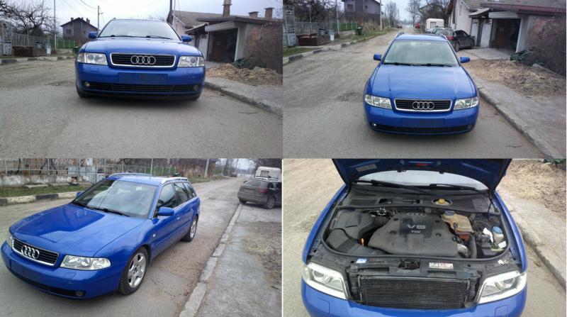 Audi A4 b5 феислифт вс.е