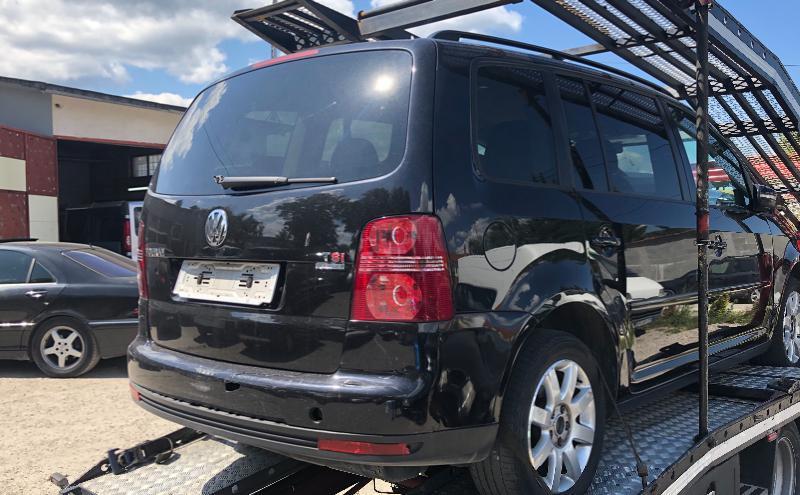 VW Touran 1,4Tsi на Части-Метан