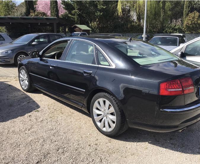 Audi A8 4.2fsi face