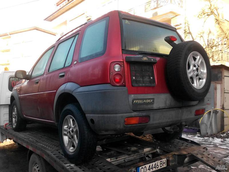 Land Rover Freelander 1.8 16V 121к.с.