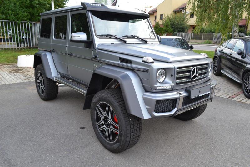 Mercedes-Benz G Standart to 4x4²
