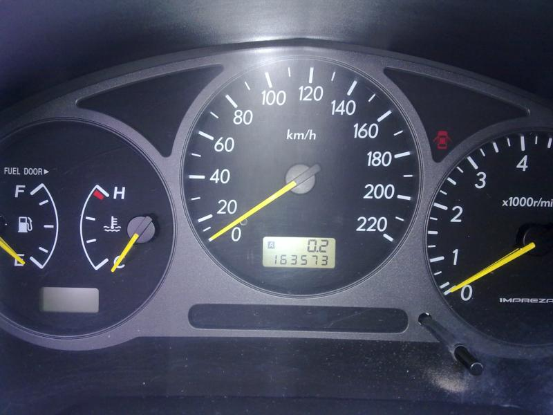 Subaru Impreza 2.0 НА ЧАСТИ, снимка 7