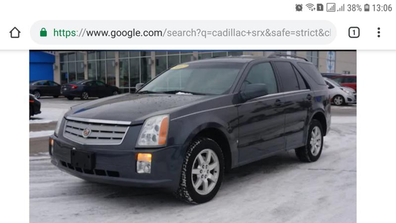 Cadillac Srx 4 X 4