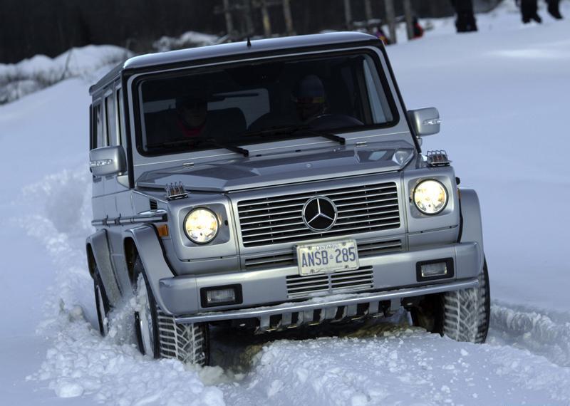 Mercedes-Benz G На части