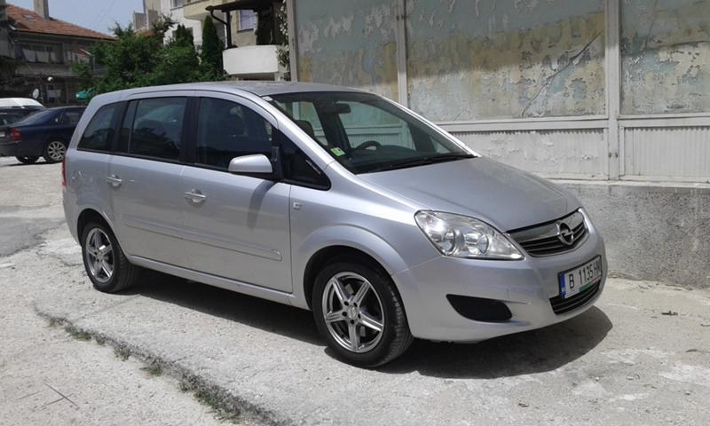 Opel Zafira 1.6 метан CNG