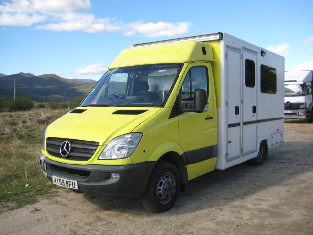 Mercedes-Benz Sprinter 518 CDI  На части