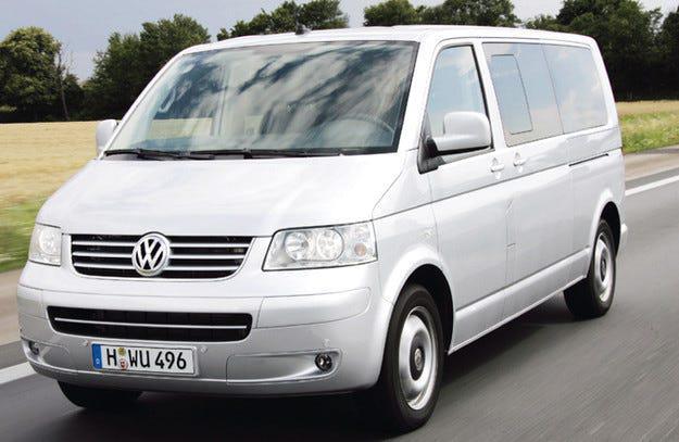 VW Multivan НА ЧАСТИ след 2004 до 2010, снимка 6
