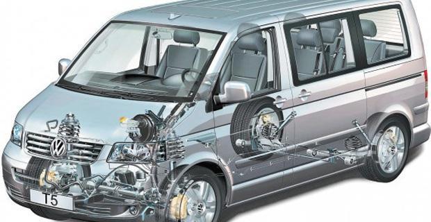 VW Multivan НА ЧАСТИ след 2004 до 2010, снимка 8