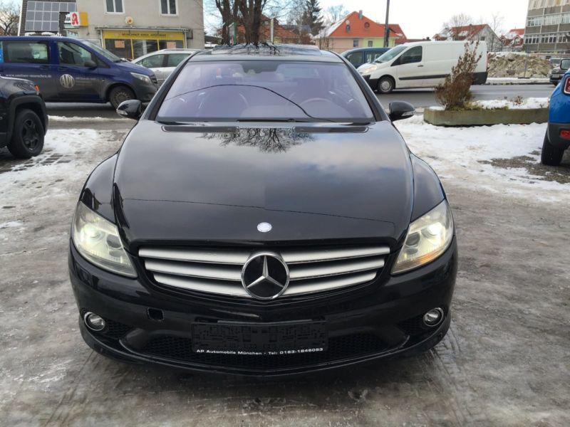 Mercedes-Benz CL 500 4 matik, снимка 1