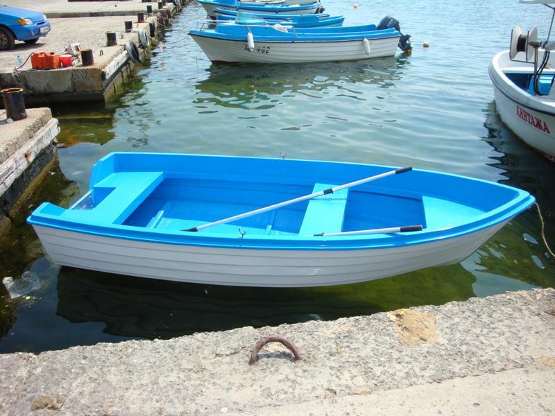 Лодка Собствено производство Fish boat 395
