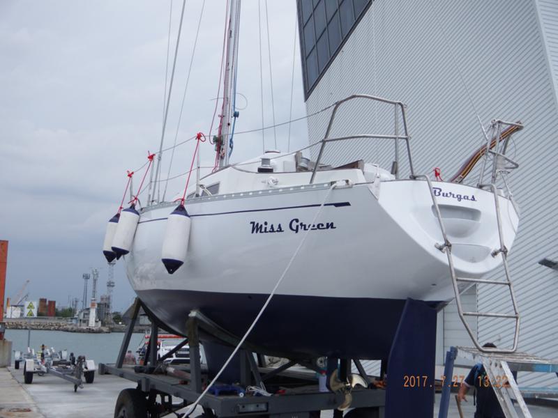 Ветроходна лодка Carter Offshore Carter 30-100%обновена/реставрирана/