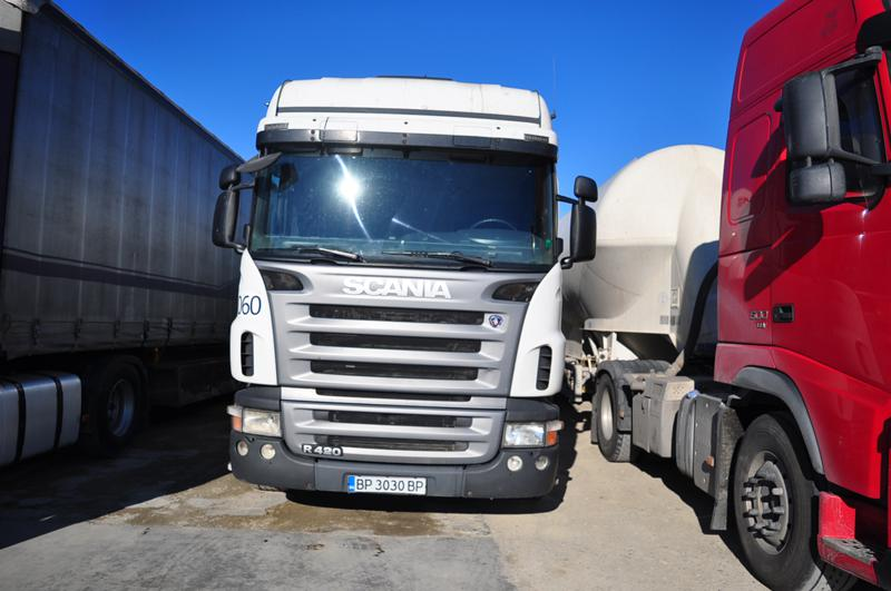 Scania R 420 На части