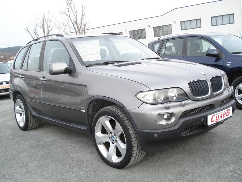 BMW X5 3,0D218ks4x4FACEKLIMATRONIKNAVI