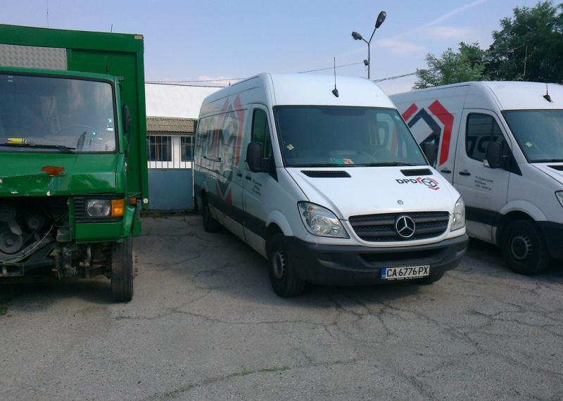 Mercedes-Benz Sprinter НА части БУСОВЕ, снимка 11