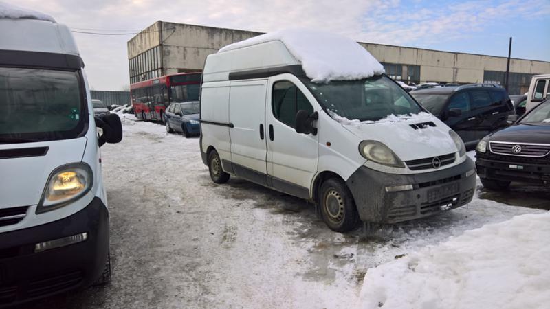Opel Vivaro 4бр. НА ЧАСТИ, снимка 14