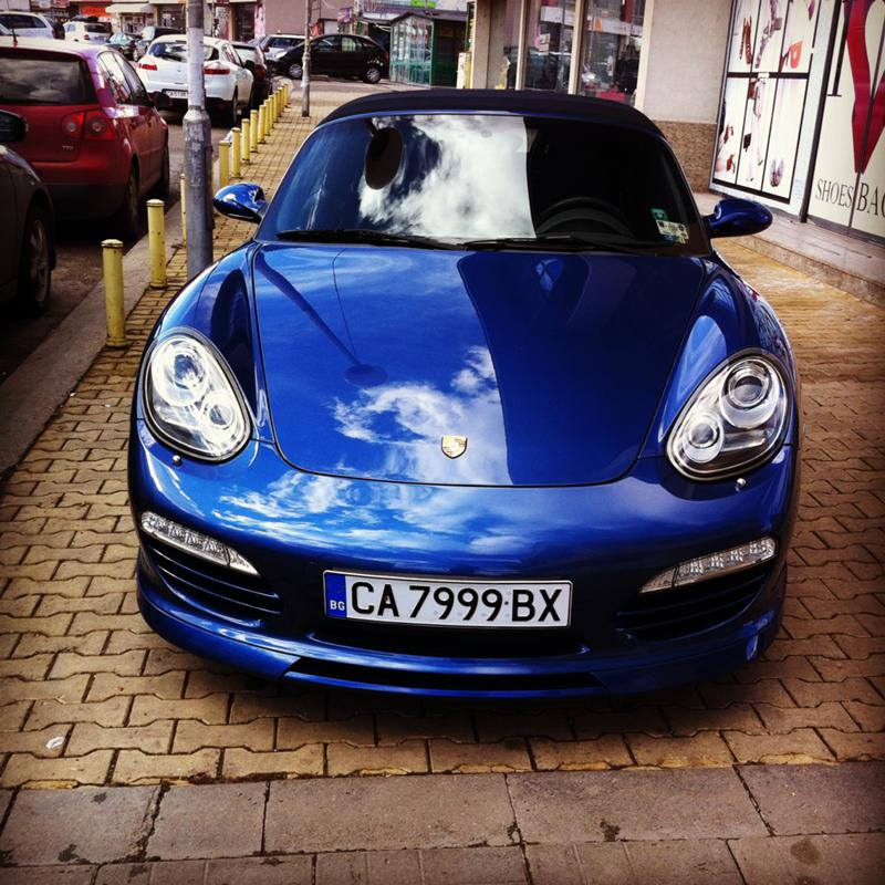 Porsche Boxster S TECHART