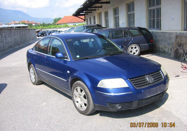 VW Passat 1,9TDI НА ЧАСТИ