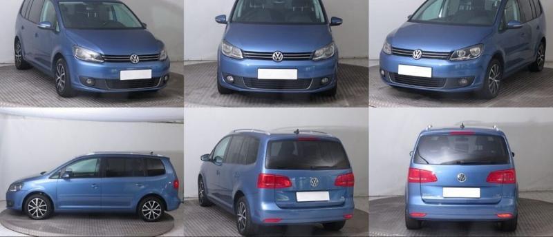 VW Touran 1.6 TDI 2.0TDI На части