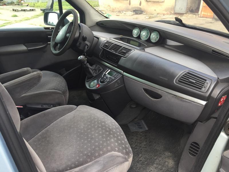 Peugeot 807 2.2 HDi-136 к.с., снимка 12