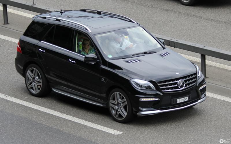 Mercedes-Benz ML 500 278-w166